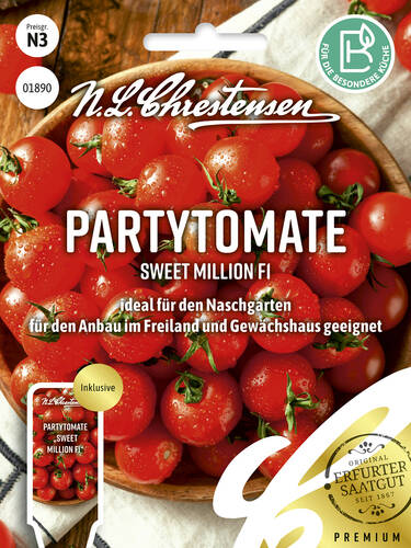 Tomatensamen - Partytomate Sweet million F1