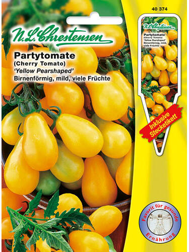 Tomatensamen - Partytomate Yellow Pearshaped