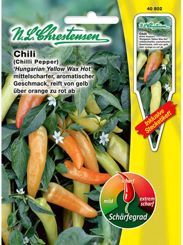 Samen - Chili Hungarian Yellow Wax Hot