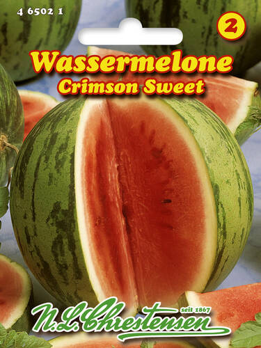 Samen - Wassermelone Crimson Sweet (Portion)