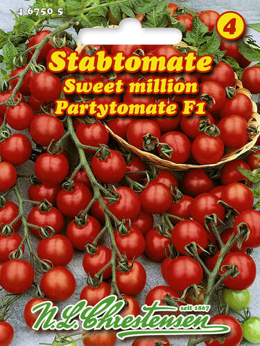 Tomatensamen - Stabtomate Sweet Million F1