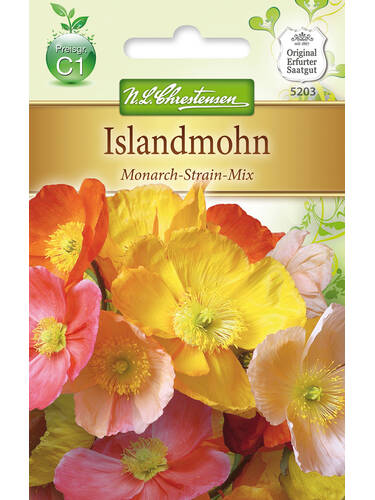 Samen - Islandmohn Monarch-Strain-Mix