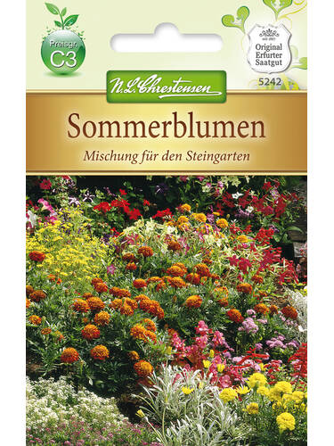 Sommerblumenmischung für den Steingarten | Samen für einjährige ...