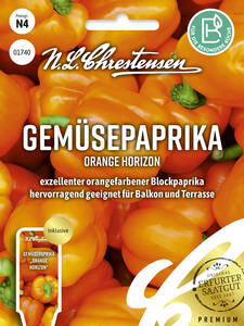 Samen - Gemüsepaprika Orange Horizon