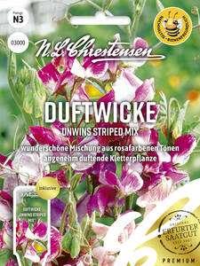 Samen - Duftwicke Unwins Striped Mix