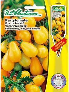 Partytomate Yellow Pearshaped