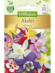 Akelei Biedermeier  Mischung mehrjährig  Blumen Samen Stauden Schnittblume