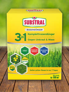 Substral® 3in1 Komplettrasendünger