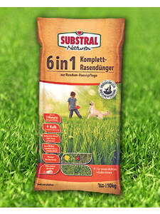 Celaflor® Substral Naturen® 6 in 1 Komplett-Rasendünger